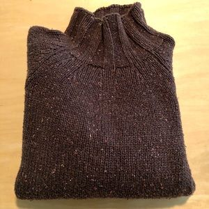 CK Jeans cotton turtleneck sweater